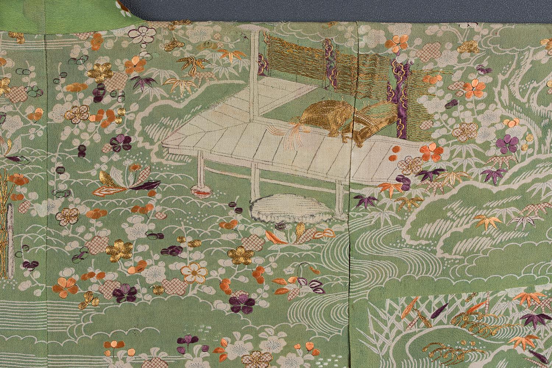 橋姫模様小袖