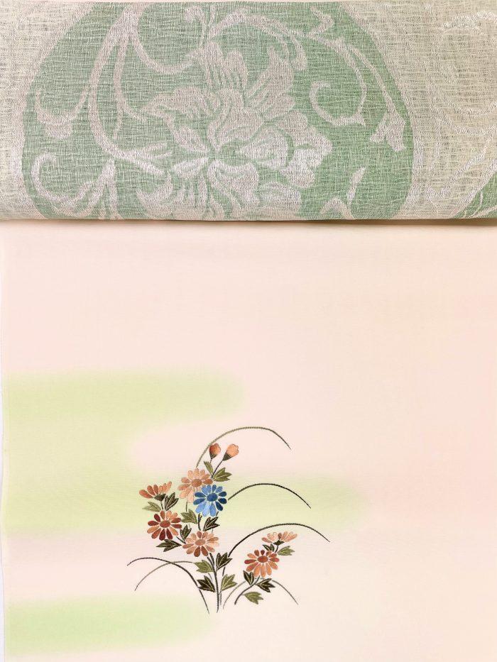 5月の着物と帯 齋藤康二