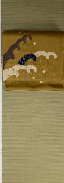 五月の着物と帯 松島輝明