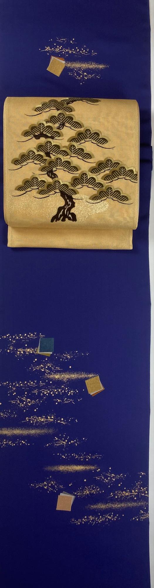 六月の着物と帯   松島輝明
